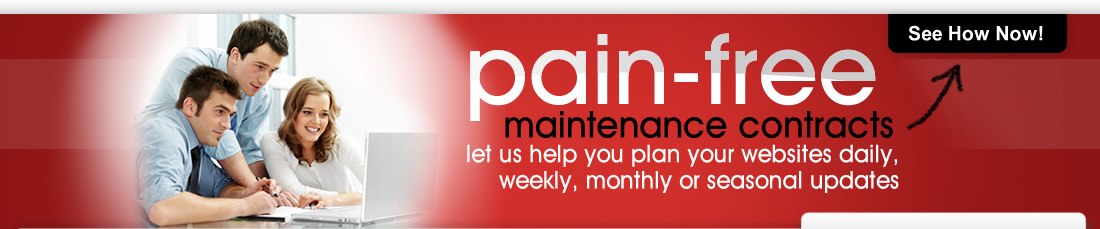 Pain Free Web Maintenance Contracts